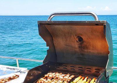 We offer BBQ seafood menu.